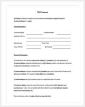 printable-dj-contract-template