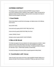premium-catering-contract-template-in-pdf