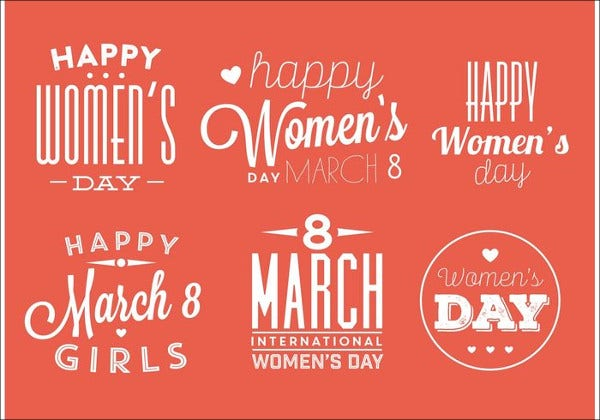 free-womens-day-badges