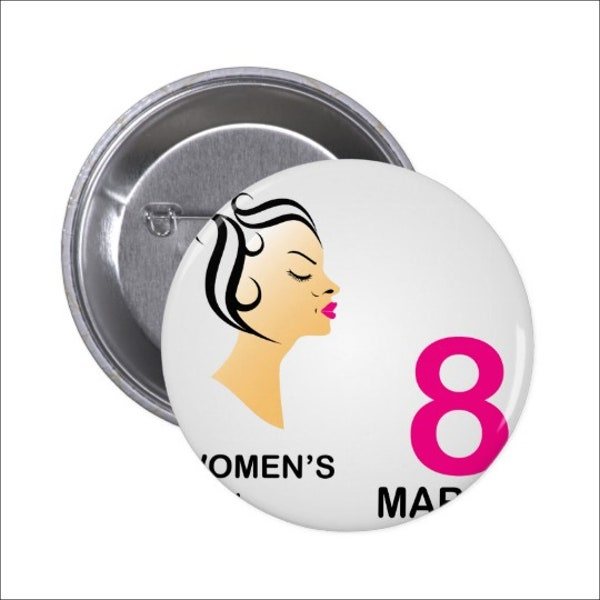 round-womens-day-badges