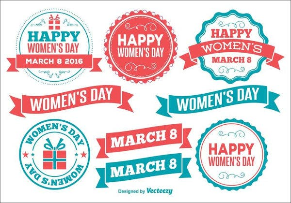 womens-day-badges-label