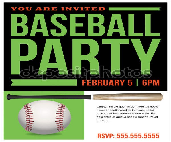 baseball-team-party-invitation