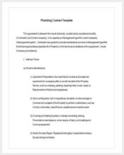 plumbing-maintenance-contract-template-free-download