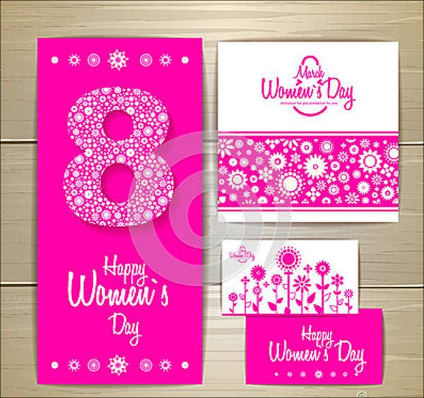 womans day animated cards