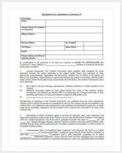 free-residential-roofing-contract-forms