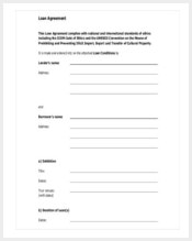 standard-loan-contract-template-free-pdf-format