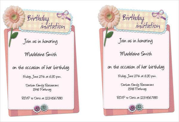 Party Invitation Template Office 3