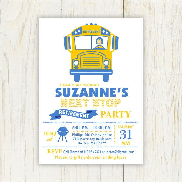 office-retirement-party-invitation-template