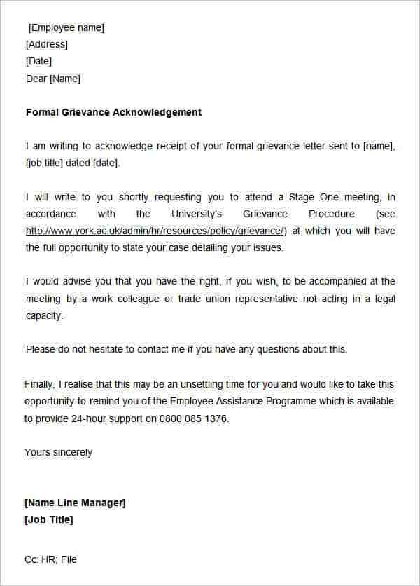31 acknowledgement letter templates free samples examples oukasfo 50 appreciation letter samples sample templates altavistaventures Image collections