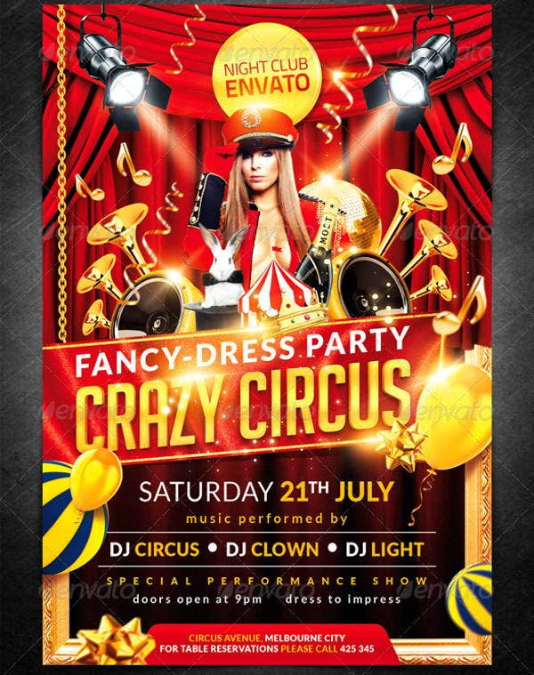 crazy-circus-party-flyer