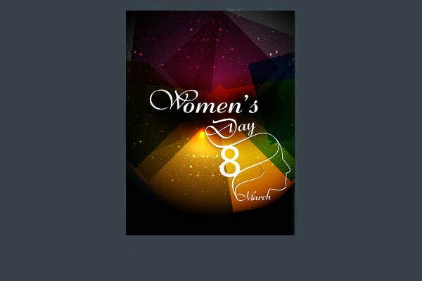 womens-day-card-brochure