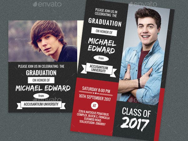 Graduation-party Invitation Card