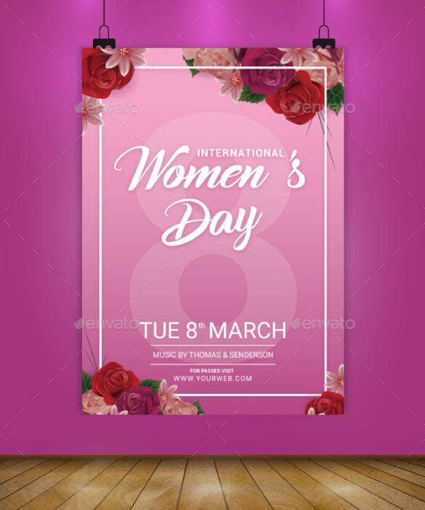 international-womens-day-flyers