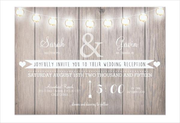 wedding reception invitation1
