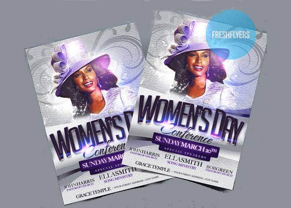 womens-day-church-flyer