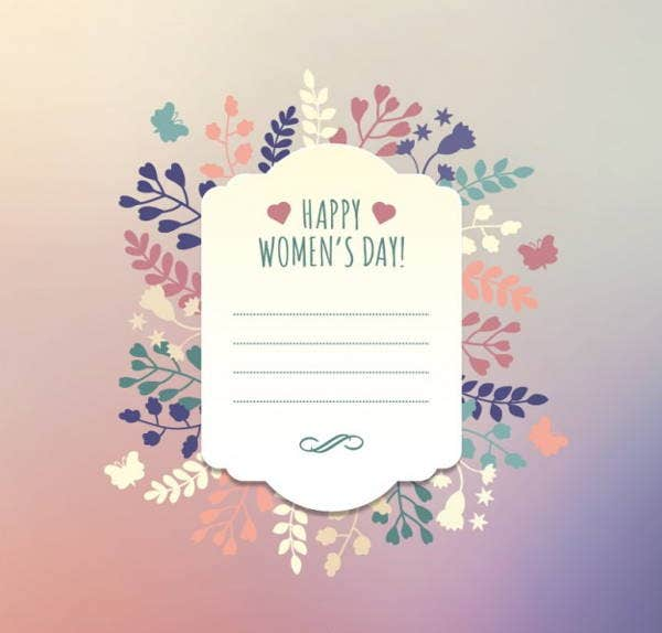 flourish women%e2%80%99s day greeting card