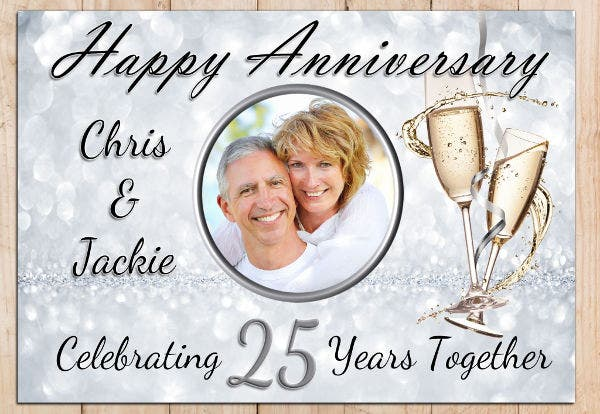 wedding anniversary party invitation1