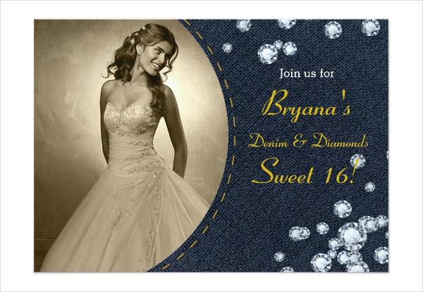 event photo invitation