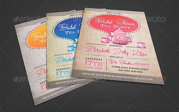 printable tea party invitation1