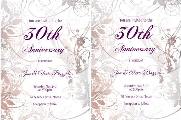 anniversary-party-invitation