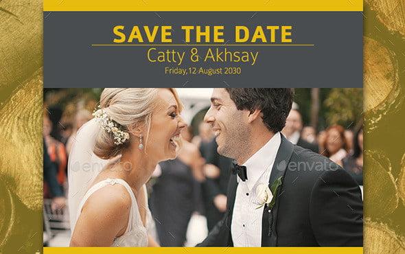 wedding email invitation