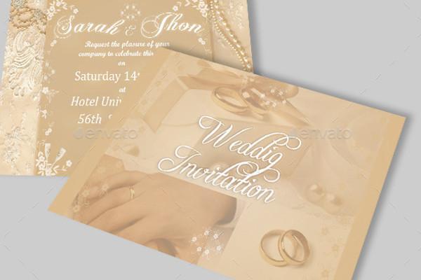 wedding card invitation format