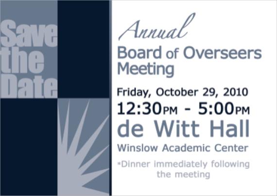 group meeting invitation