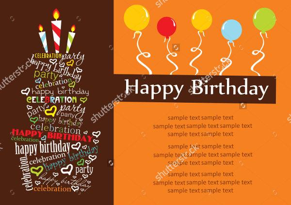 birthday function invitation format