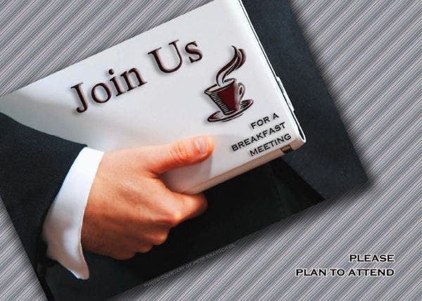-Business Meeting Invitation Format