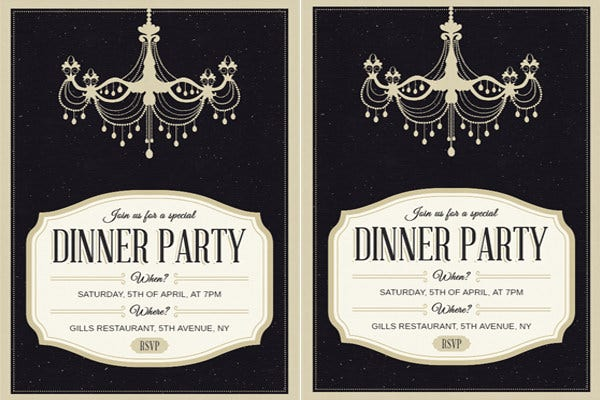dinner party invitation2