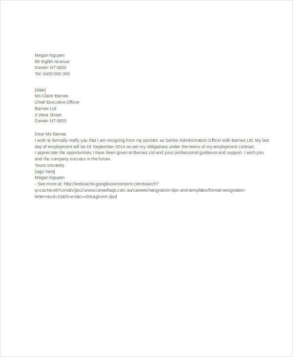 Free Letter Templates  34 Free Word  PDF Documents