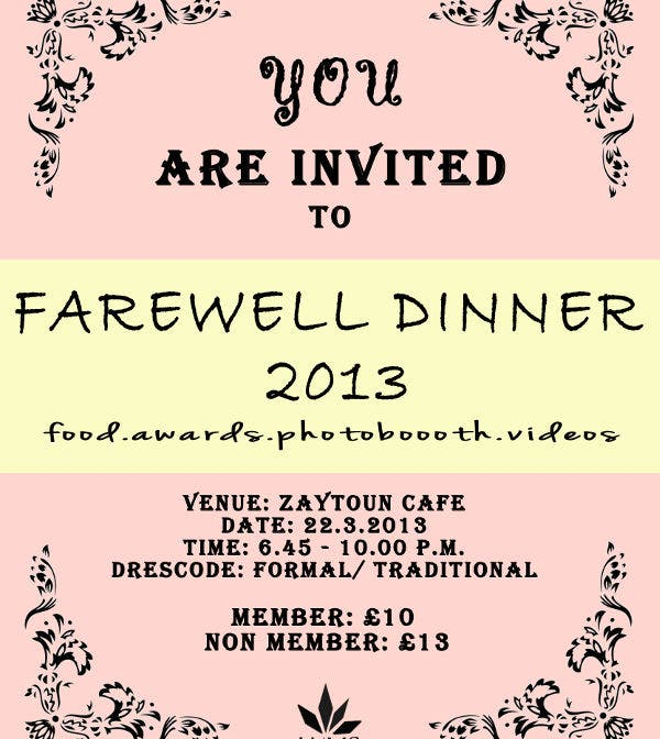 Amazing  School Farewell Invitation Format For Format For Invitation