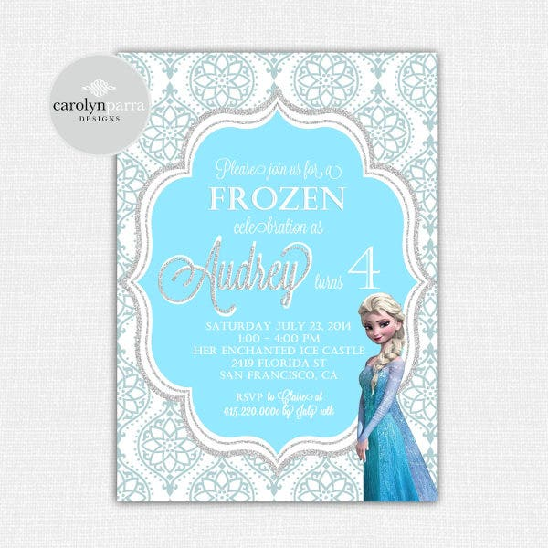 diy-frozen-invitation