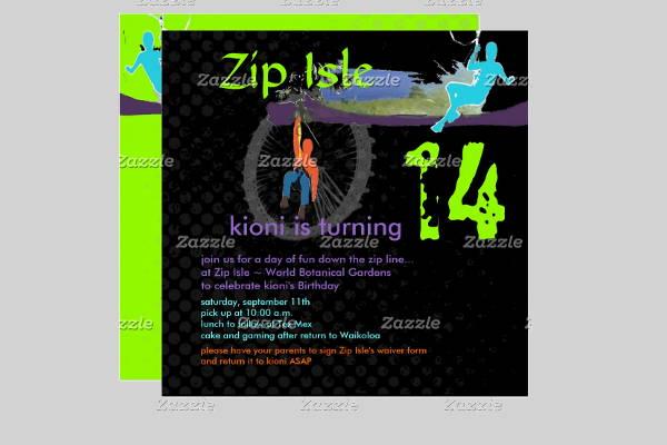 diy-line-invitation-template