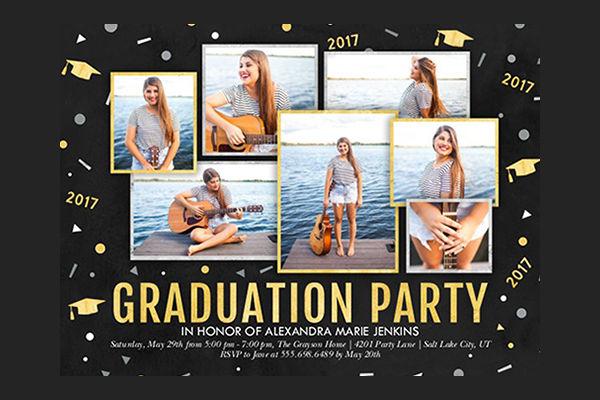 -Graduation Party Invitation Format
