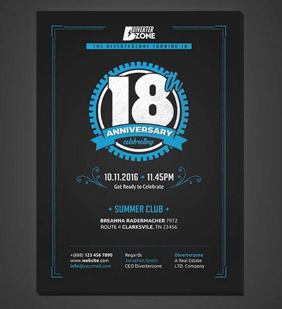 company-anniversary-invitation