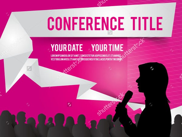 conference meeting invitation format