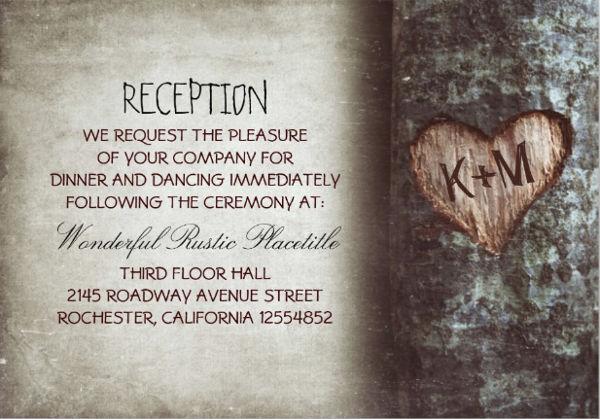 wedding reception invitation format1