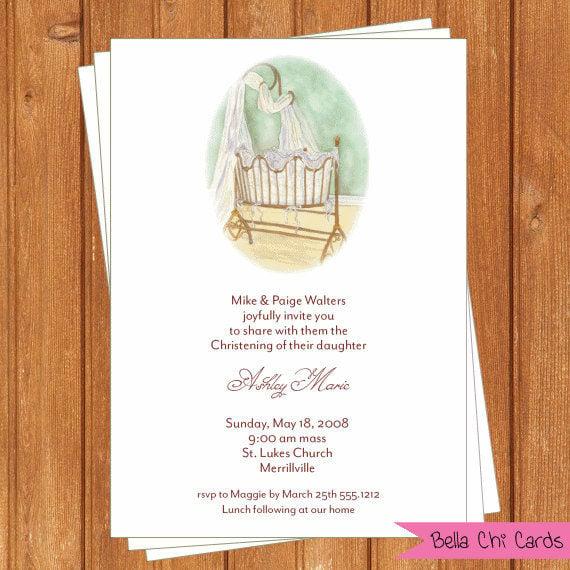 cradle ceremony invitation