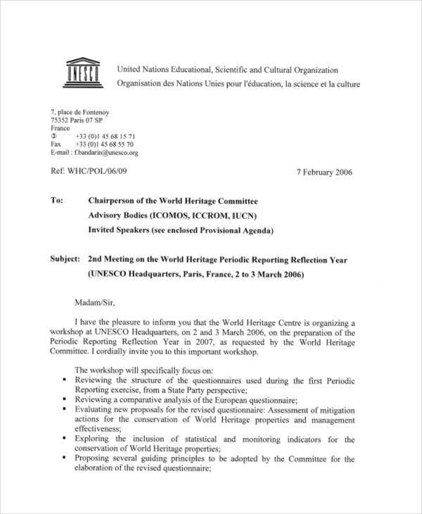 free professional invitation letter