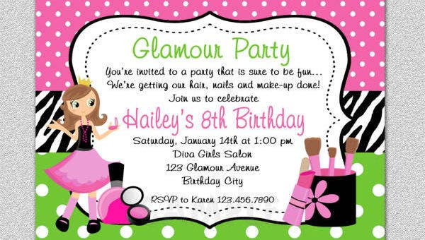 12+ Spa Party Invitations - PSD, AI, Word | Free & Premium