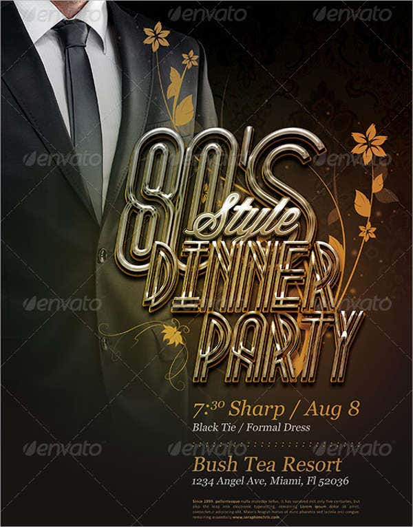 formal dinner party invitation2