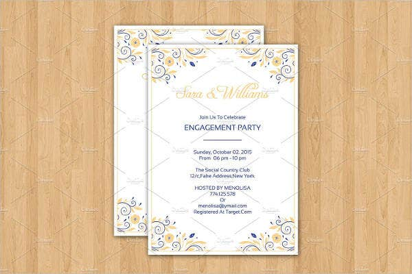 formal engagement party invitation1