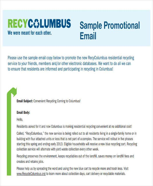 Promotional Email Templates Free PSD EPS AI Format Download - Promotional email template