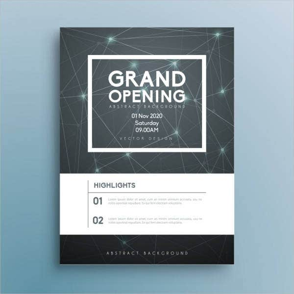 Corporate Event Invitations   Design Sample Example Template