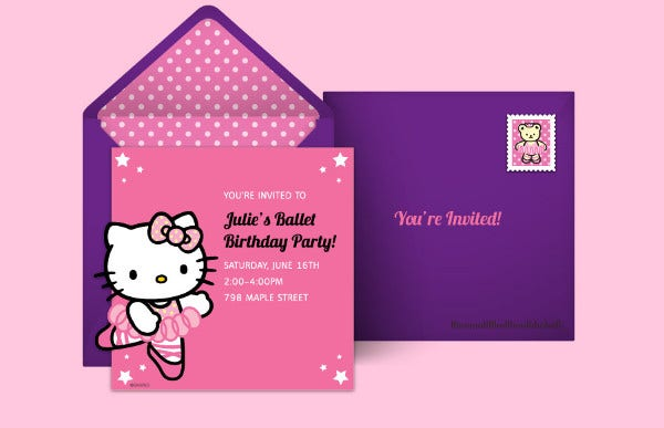 14 Kitty Party Invitation Designs Templates Psd Ai Word