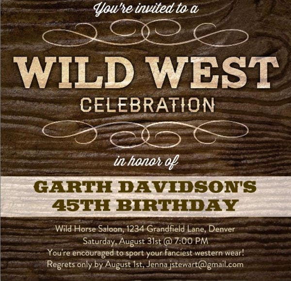 9+ Birthday Event Invitations | Free & Premium Templates