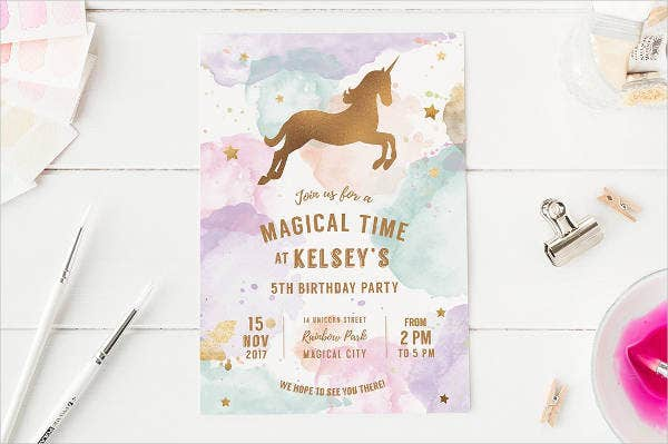 Children's Birthday Party Invitation