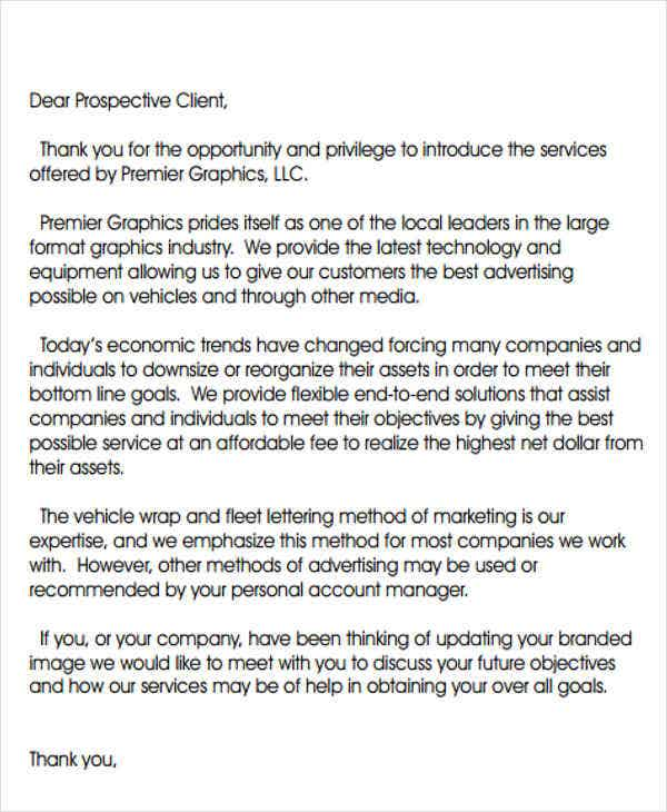 Introduction Letter Templates   Free Sample Example Format