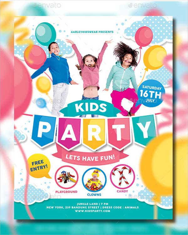 childrens personalised party invitation